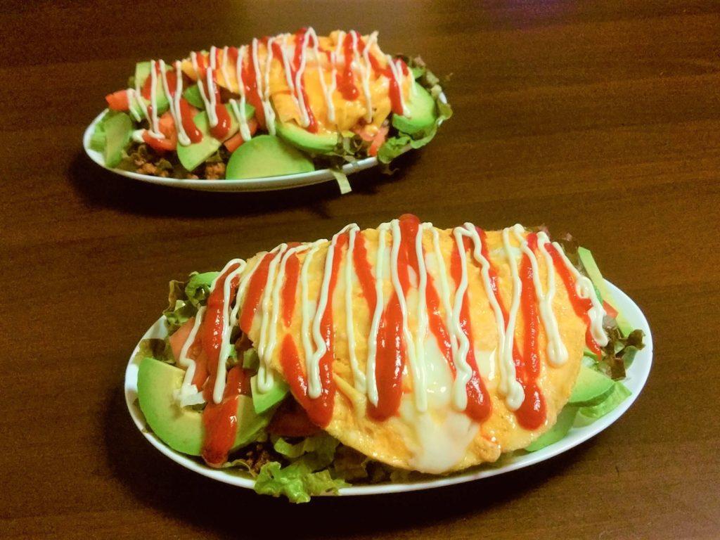家庭で作れる沖縄料理『タコライス』