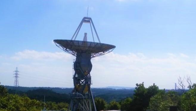 沖縄宇宙通信所『JAXA』の施設見学(恩納村)