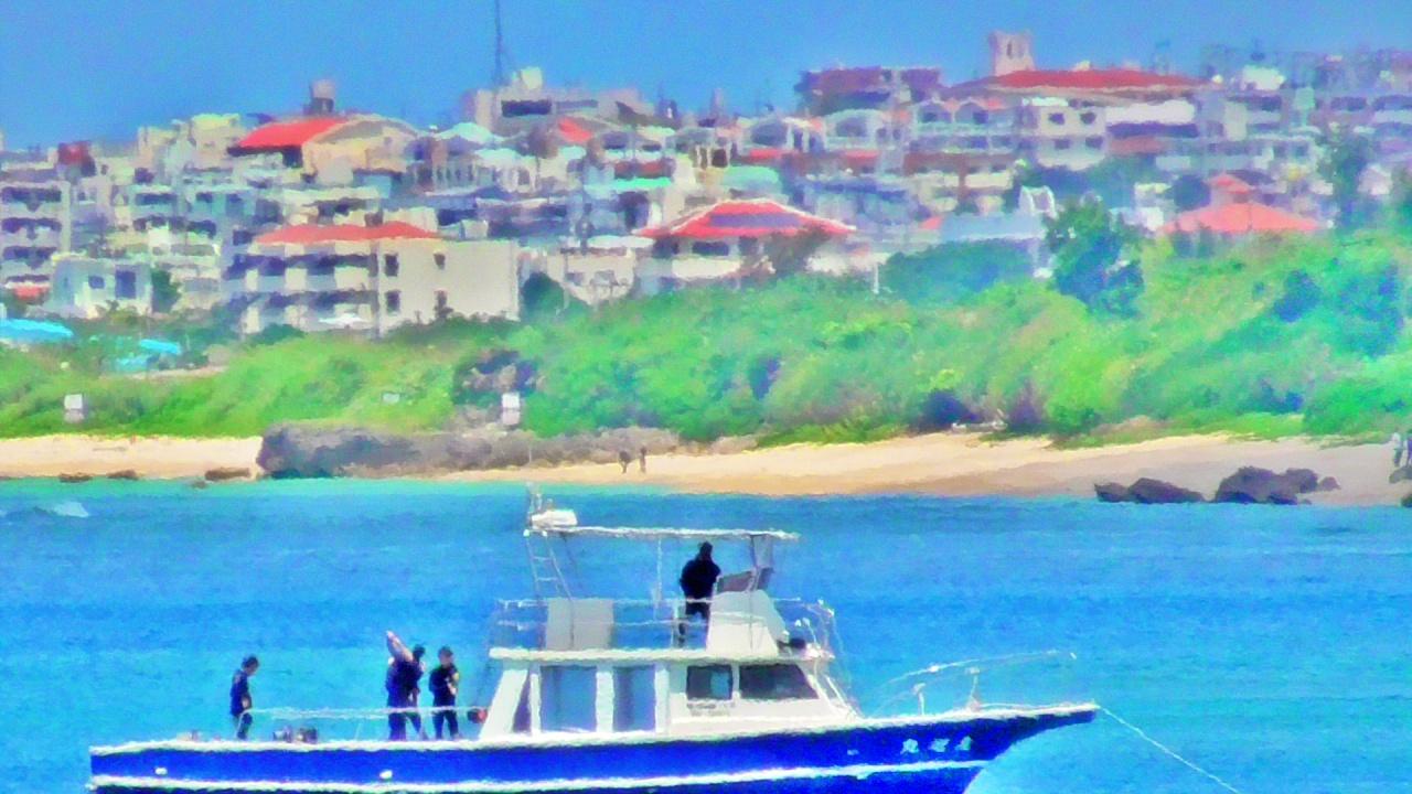 沖縄の隠れ家的 絶景に行ったら地球がまるかった!