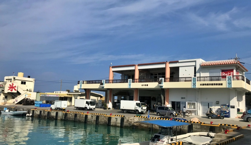 沖縄の人気漁港都屋漁港沖縄天ぷら